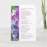 "These are the gifts you&#39;ve shared...Friendship Card<br><div class=""desc"">This card thanks a dear friend for the gifts they've brought to your life – their kindness, support, validation, sincerity, compassion, and love…gifts that can't be packaged or priced…but gifts that have enriched you the most. A purple floral design enhances the prose. Infinnite products feature the work of top-selling inspirational...</div>"