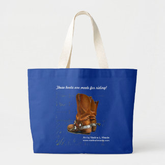 These Boots are made for Riding! Bag