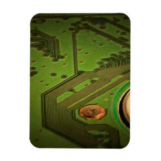 These circuits make everything work rectangular photo magnet