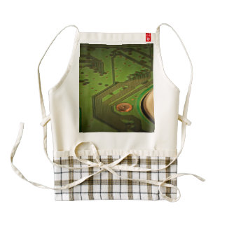 These circuits make everything work zazzle HEART apron