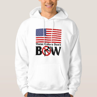 These colors don't Bow! Hoodie