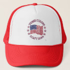 These Colors Don't Run! American Flag & Stars Trucker Hat
