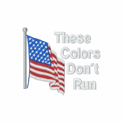 These Colors Dont Run Patriotic American Hoody
