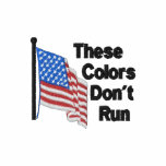 These Colors Dont Run Patriotic Polo Shirt
