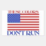 These colors don't run rectangular sticker