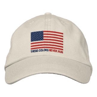 These Colors Never Run Embroidered Hat
