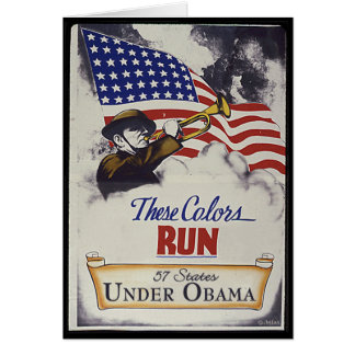 These Colors Run (Obama) Card