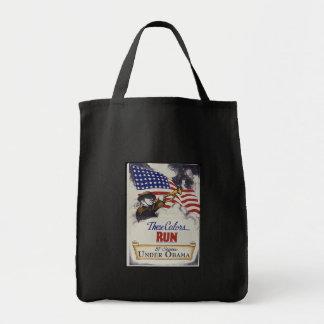 These Colors Run (Obama) Tote Bag