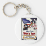 These Colors, Won't Run, Pearl Harbor Basic Round Button Keychain