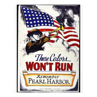 These Colors, Won't Run, Pearl Harbor Flyer