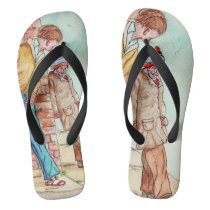 These Cuties Can Be Worn all Year Long In Florida Flip Flops