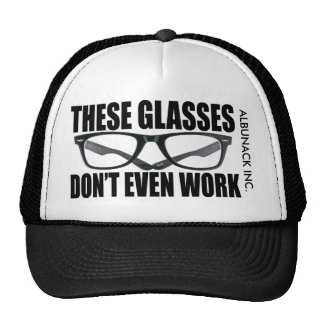 THESE GLASSES (HAT) TRUCKER HAT
