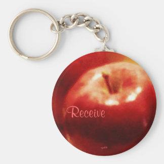 These Quiet Seasns November Apples Keychain