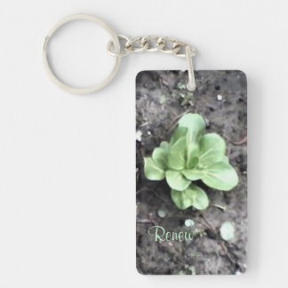 These Quiet Seasons April Bok Choy Keychain
