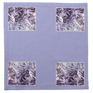 These Quiet Seasons February Lavendar Cloth Napkin