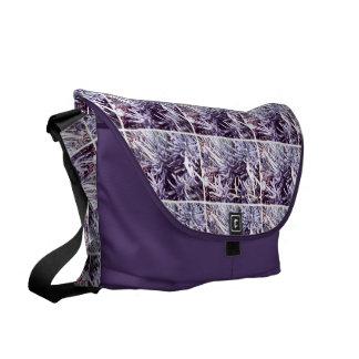 These Quiet Seasons February Lavendar Courier Bag