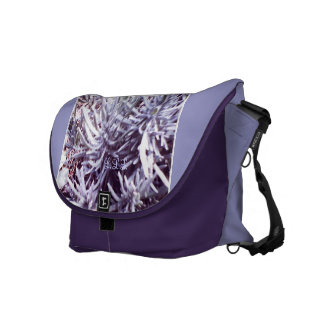 These Quiet Seasons February Lavendar Messenger Bag