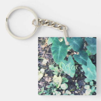 These Quiet Seasons July Shade Plants Keychain