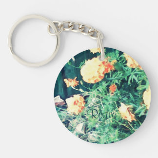 These Quiet Seasons June Marigolds Keychain