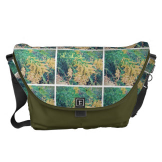 These Quiet Seasons September Wildflowers Courier Bag