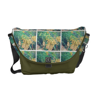 These Quiet Seasons September Wildflowers (med.) Courier Bag