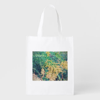 These Quiet Seasons September Wildflowers Reusable Grocery Bag
