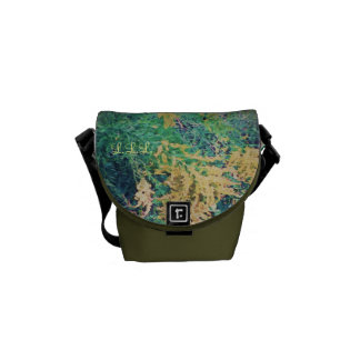 These Quiet Seasons September Wildflowers (sml.) Courier Bag