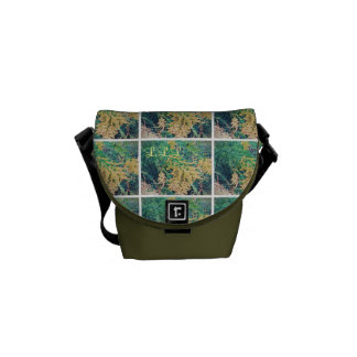 These Quiet Seasons September Wildflowers (sml.) Messenger Bag