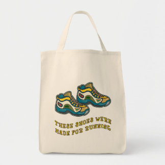 These Shoes Were Made for Running Tshirts Tote Bag