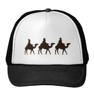 These Three Kings of Orient Are Christmas Drawing Trucker Hat