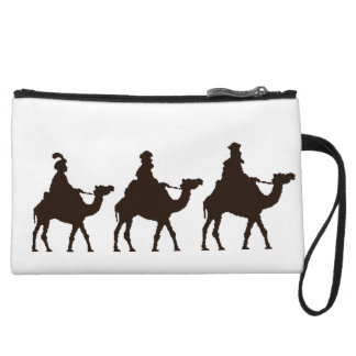 These Three Kings of Orient Are Christmas Drawing Wristlet