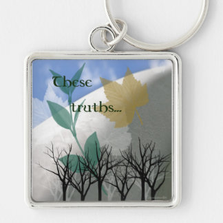 These truths... keychain