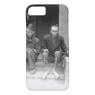These two staring, emaciated men are_War Image iPhone 7 Case