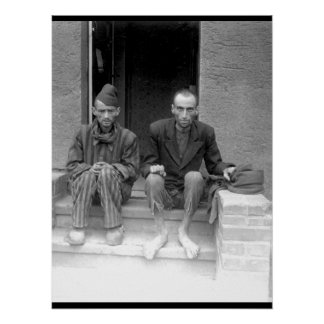 These two staring, emaciated men are_War Image Poster