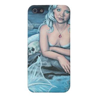 these waters deep mermaid i phone 4 case