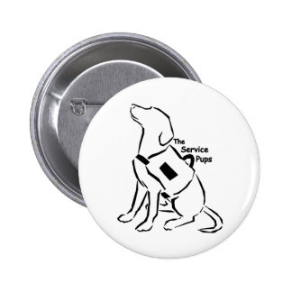 TheServicePups-Botón Pin