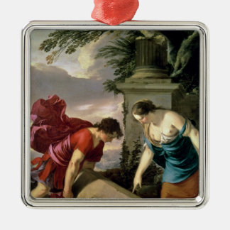 Theseus and his Mother Aethra, c.1635-36 Ornaments