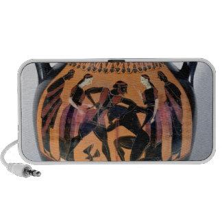 Theseus Fighting the Minotaur Notebook Speakers