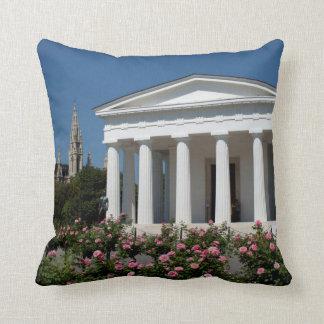 Theseus Temple Vienna Austria Throw Pillow