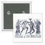 Theseus & The Minotaur Pinback Button
