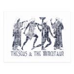 Theseus & The Minotaur Postcard