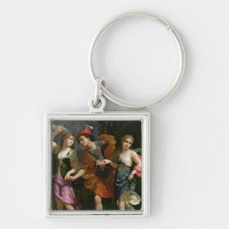 Theseus with Ariadne and Phaedra Keychain