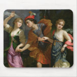 Theseus with Ariadne and Phaedra Mouse Pad