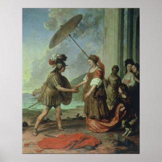 Theseus y Ariadne, Strijcker Poster