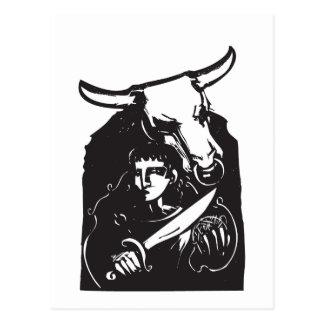 Theseus y el Minotaur Postales