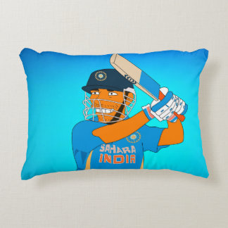 theSinghSingh's Dhoni characature style pillow