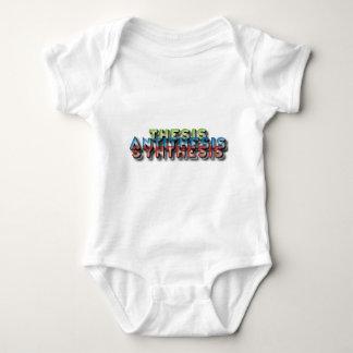 thesis antithesis synthesis baby bodysuit