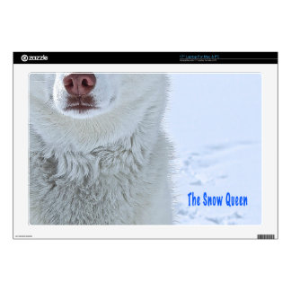 TheSnowQueen350textIMG_5988 - Version 2 copy.png Laptop Decals