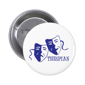 thespian blue button