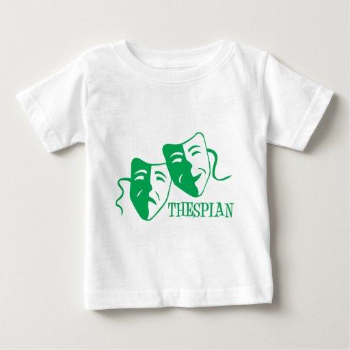 thespian green baby T-Shirt